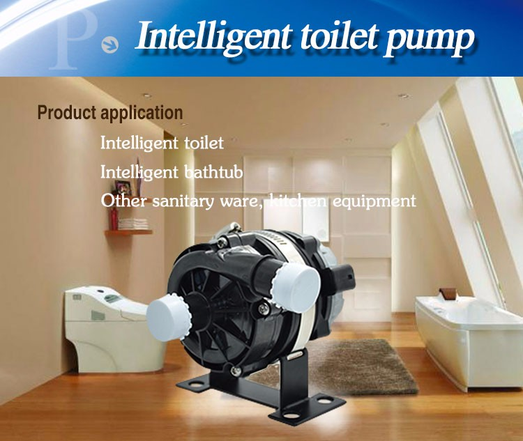 smart bathtub pump application