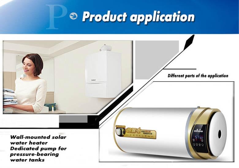 water heater pumps VP40N application